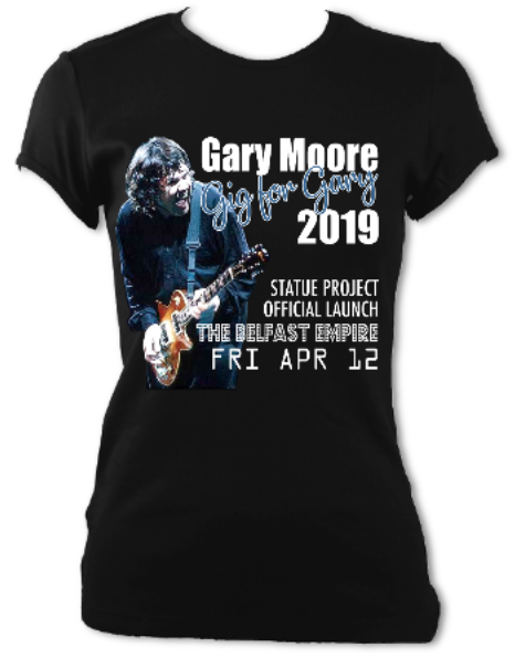 Gig For Gary Official Fundraising Tees For Sale Online for a Limited Time